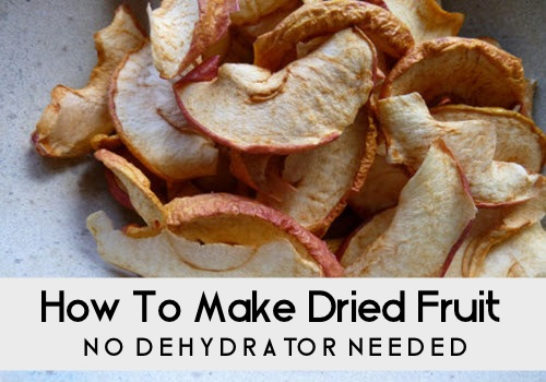 Make Dried Fruit In The Oven (No Dehydrator Needed)