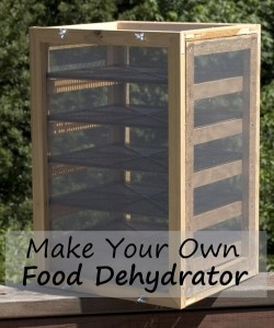 Make Your Own Food Dehydrator Tutorial