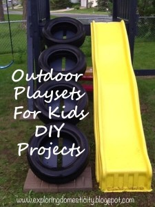 Outdoor Playsets For Kids DIY Projects