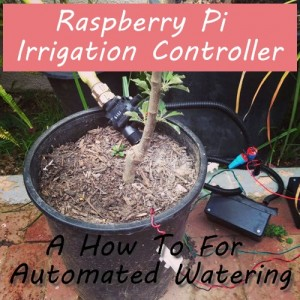 Raspberry Pi Irrigation Controller