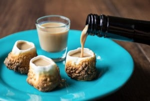 DIY Toasted Marshmallow Shot Glasses