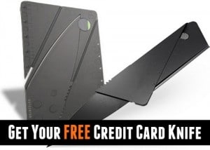 Get Your Free Credit Card Knife