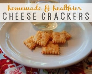 Homemade Cheese Crackers Recipe