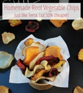 Homemade Root Vegetable Chips (Just Like Terra)