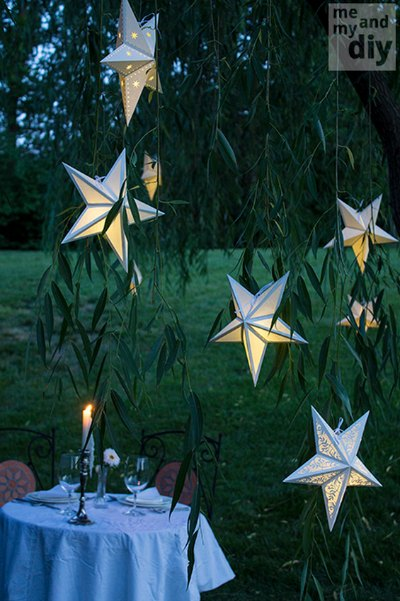 how to make your own paper star lanterns homestead
