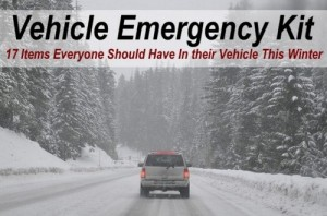 Vehicle Emergency Kit, 17 Items Everyone Should Have In Their Car