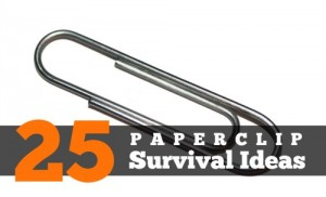 25 Paperclip Survival Ideas