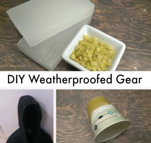 DIY Cheap And Easy Vintage Style Weatherproofed Gear