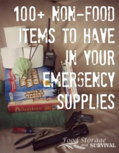 100 Non-Food Items To Have In Your Emergency Supplies