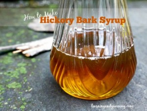 How To Make Hickory Bark Syrup
