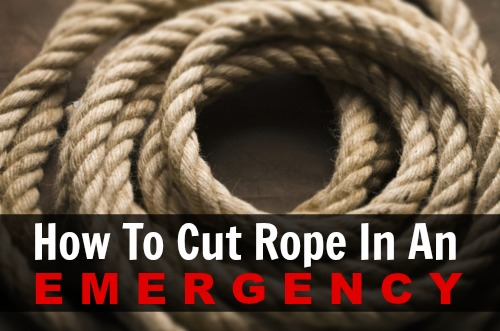 Tutorial: How To Cut Rope In An Emergency