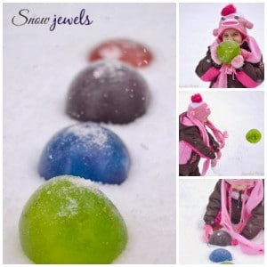 How To Make Snow Jewels