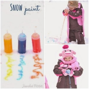 How To Make Squirty Snow Paint