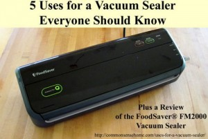5 Uses For A Vacuum Sealer That Everyone Should Know