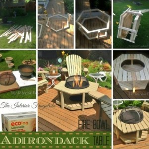 DIY Adirondack Fire Table Bowl