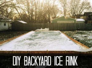 DIY Backyard Ice Rink