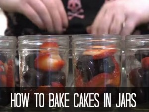 How To Bake Cakes In Jars