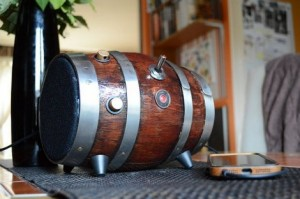 How To Make A Barrel Speaker