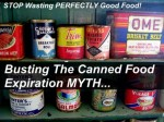Busting The Canned Food Expiration Myth