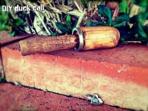 How To Make A DIY Duck Call