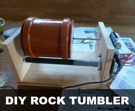 DIY Rock Tumbler Tutorial - Homestead & Survival