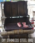 Portable DIY Stainless Steel BBQ