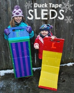 How To Make A Duct Tape Sled
