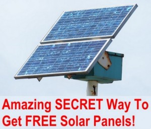 How To Get Free Solar Panels