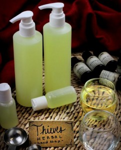 DIY Herbal Hand Soap