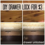 How To Make A Secret Drawer Lock For $3