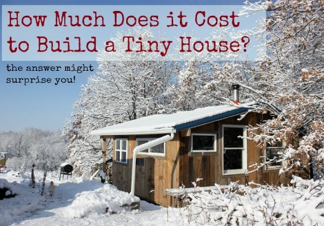 How Much Does A Tiny House Cost Homestead Survival