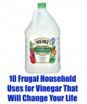 10 Frugal Household Uses For Vinegar That Will Change Your Life