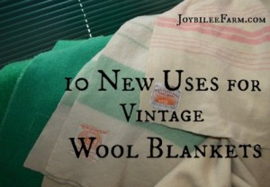 10 New Uses For Vintage Wool Blankets
