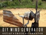 Build A Wind Generator Out Of A Truck Alternator
