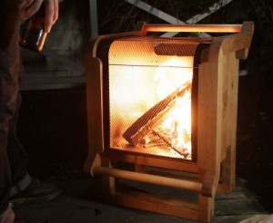 Build A Wooden Portable Fire Pit
