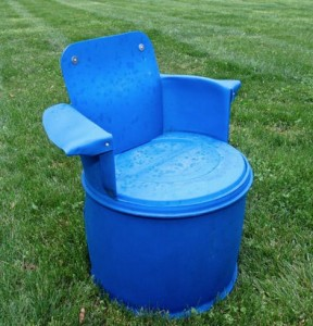 How To Make A 55 Gallon Barrel Chair