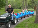 DIY Drum Barrel Train Car