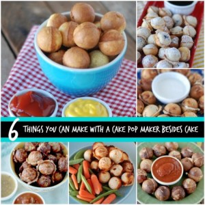 6 Things You Can Make With A Cake Pop Maker Besides Cake