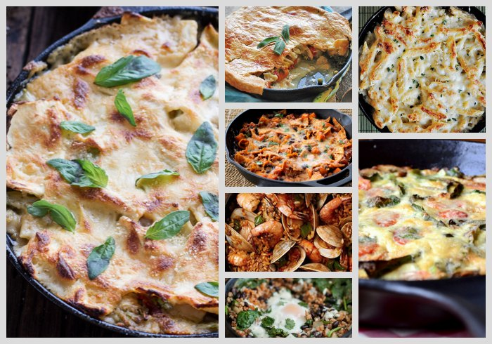 cast-iron-skillet-casseroles