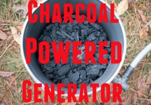 DIY Charcoal Powered Generator