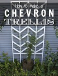 Chevron Trellis DIY