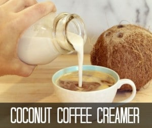 Coconut Coffee Creamer Recipe