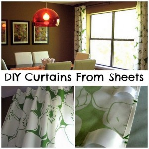How To Make Curtains From Flat Sheets