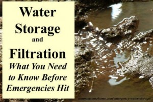 Emergency Water Storage And Filtration – What You Need To Know
