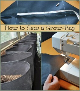 How To Sew A Grow Bag