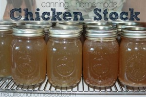 Canning Homemade Chicken Stock