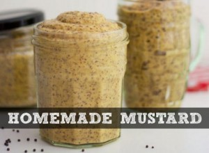 How To Make Homemade Mustard