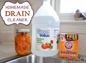 Homemade Non-Toxic Drain Cleaner
