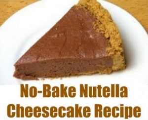 nutella-cheesecake