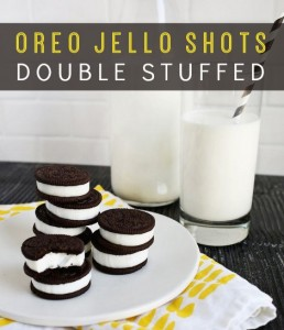 Double-Stuffed Oreo Jello Shots